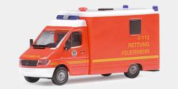 Mercedes Benz Sprinter Strobel RTW Feuerwehr Hamburg