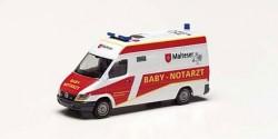 Mercedes Benz Sprinter Baby-NAW Malteser Rosenheim