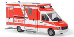 Mercedes Benz Sprinter RTW Baby Notarzt Feuerwehr Frankfurt