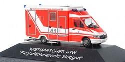 Mercedes Benz Sprinter RTW Flughafenfeuerwehr Stuttgart