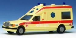 Mercedes Benz W 124 Miesen Ambulans Schweden