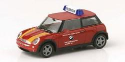 Mini Cooper BMW Werksfeuerwehr ELW