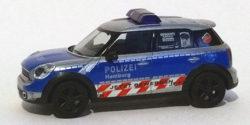 Mini Cooper Countryman Polizei Hamburg
