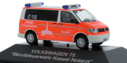 VW T5 NEF Feuerwehr Kassel