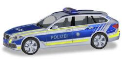 BMW 5er Touring Polizei Bayern BMW Präsentationsfahrzeugeug